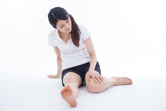 変形性ひざ関節症の痛みの写真