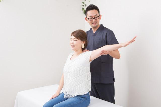 5.施術後の体の変化をチェック